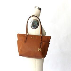 Michael Kors Shoulder Bag Tote Purse in Acorn